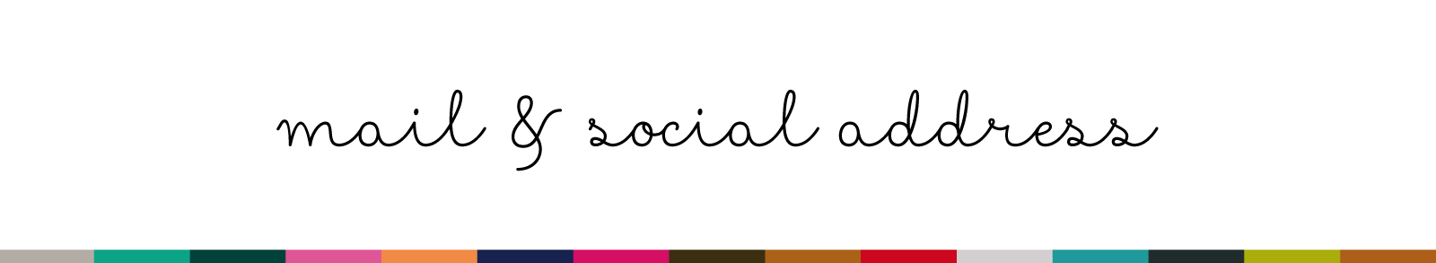 mela e carota : social address