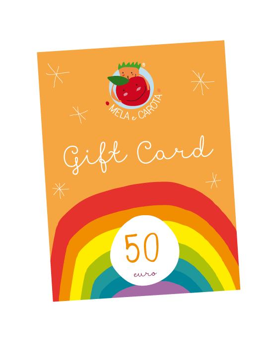 mela e carota : gift card